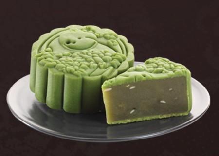 Thanh mát với bánh trung thu hương vị trà xanh handmade