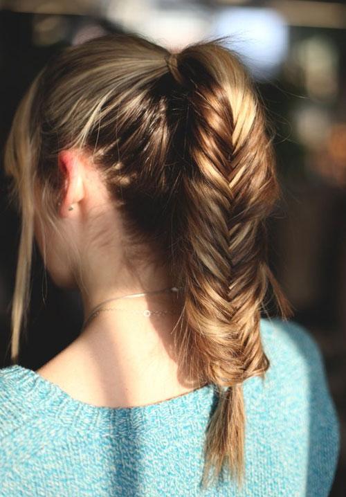 Các kiểu tóc đẹp tới trường siêu dễ thương