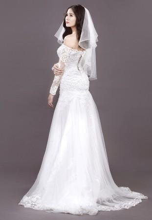 mẫu váy cưới đẹp được các cô dâu săn đón trong năm 2016