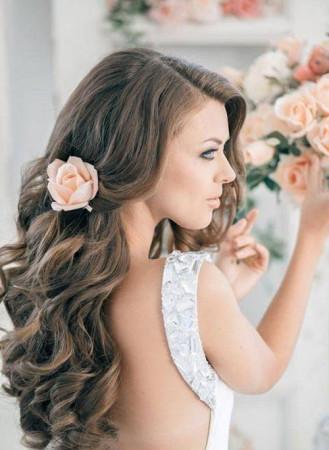 sáu kiểu tóc đẹp nhất cho cô dâu năm 2015