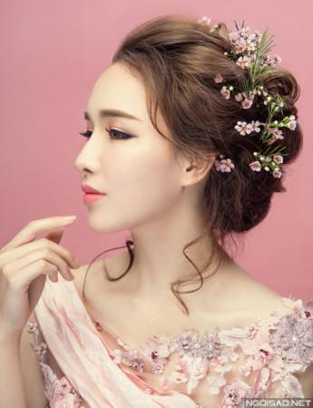 5 kiểu tóc đẹp cực kỳ duyên dáng cho cô dâu