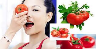 khám phá cách làm đẹp da từ cà chua