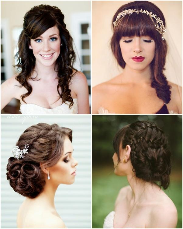 Chon kiểu tóc cưới đẹp phù hợp với gương mặt của từng cô dâu