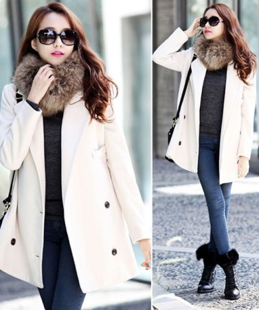 Những dáng áo khoác dạ đẹp mê hồn trong ngày đông lạnh