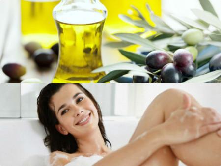 Dưỡng da từ dầu oliu hiệu quả vào mùa đông