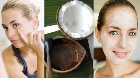 Dầu dừa làm đẹp da mặt tuyệt vời cho các nàng