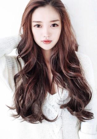 Kiểu tóc xoăn mái dài đẹp xu hướng tóc 2016