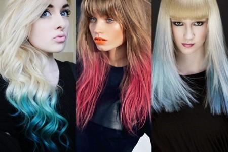 Màu tóc đẹp nhuộm ombre xu hướng tóc gây bão