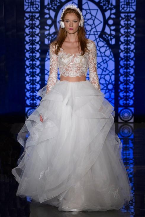 Mãn nhãn với thiết kế xu hướng váy cưới năm 2016