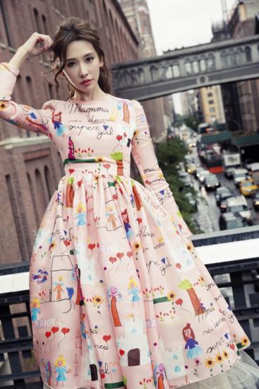 Đầm xòe đẹp cho các cô nàng công sở chuẩn dáng