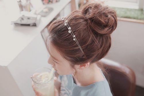 Những kiểu tóc đẹp cho mắt một mí thêm đáng yêu 2