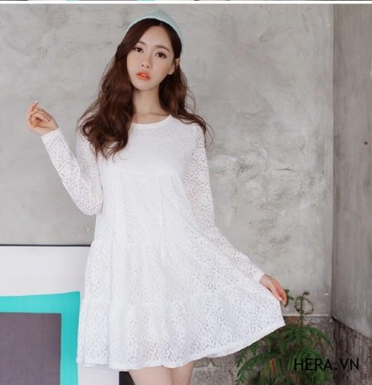 """Những mẫu váy chữ a liền thân cho cô nàng """"kẹo ngọt"""" 3"""
