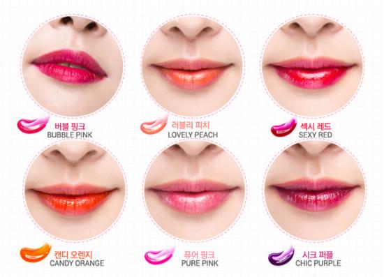 Son xăm mặt nạ môi Lip Tint Korea - đẹp, độc, lạ