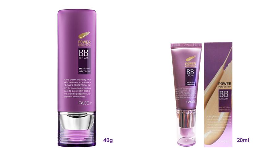 Tuyệt chiêu làm đẹp với kem BB 3 in 1 Face It Power Perfection The Face Shop
