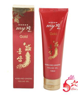 Gel tẩy tế bào da chết sâm đỏ My Gold - Hàn Quốc
