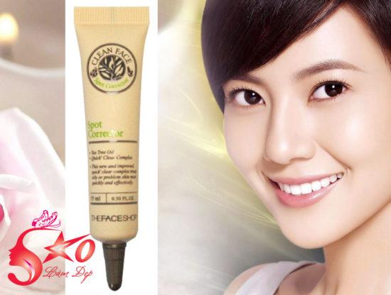 Kem trị mụn Clean Face Spot Corrector