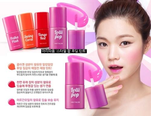 """Top 5 mẫu son tint """" gây bão"""" tại Hàn Quốc"""
