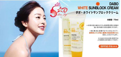 Kem chống nắng Dabo White Sunblock Cream Spf 50 PA+++