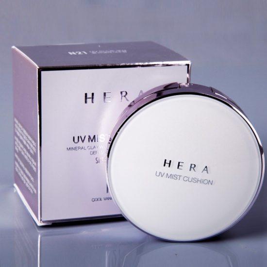 Phấn nước chống nắng kiềm dầu Hera UV Mist Cushion
