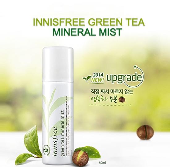 Xịt khoáng tinh chất trà xanh Innisfree