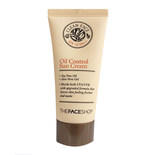 BB Cream kiềm dầu Clean Face Oil Control The Face Shop