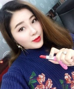 Son Chicholic Hồng Vỏ Nhôm Cooling Sensation With Matte Lipstic