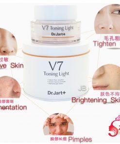 Kem dưỡng trẻ hóa trị nám da V7