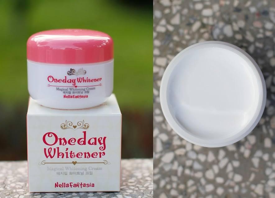 KemDưỡngTrắngDaMặtOneday Whitener Magical Whitening Cream