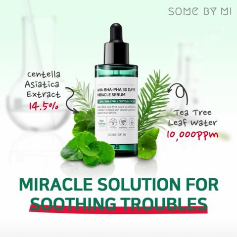 Serum trị mụn Some By Me AHA-BHA-PHA 30Days Miracle