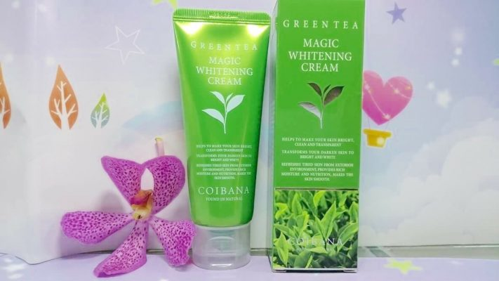 Kem Dưỡng Da Coibana Green Tea Magic Whitening