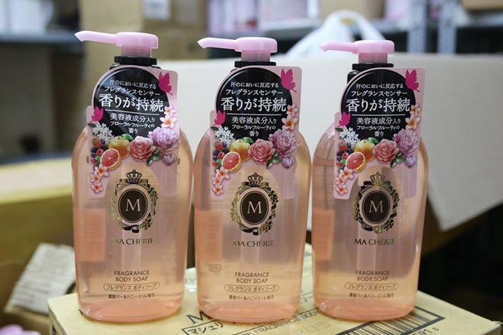 Sữa tắm Trắng Da Shiseido Macherie Fragrance Body Soap