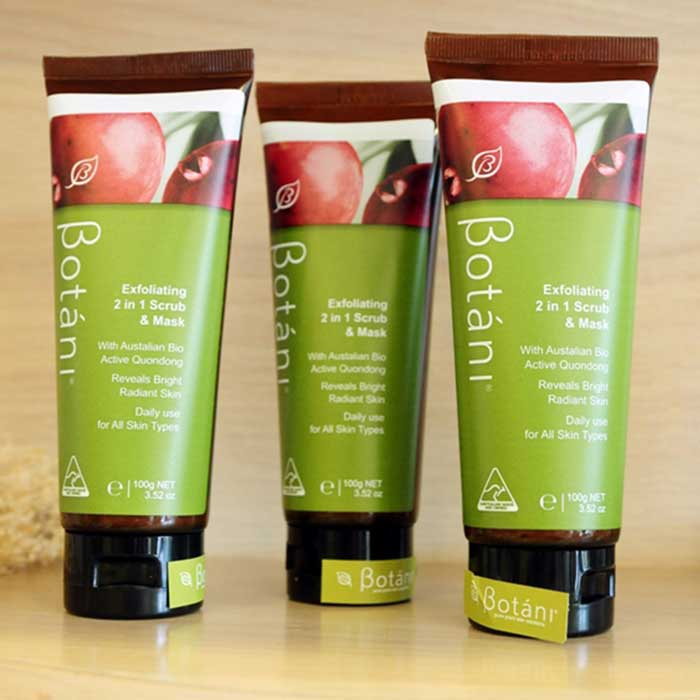 Botani Exfoliating 2 and 1 Scrub & Mask