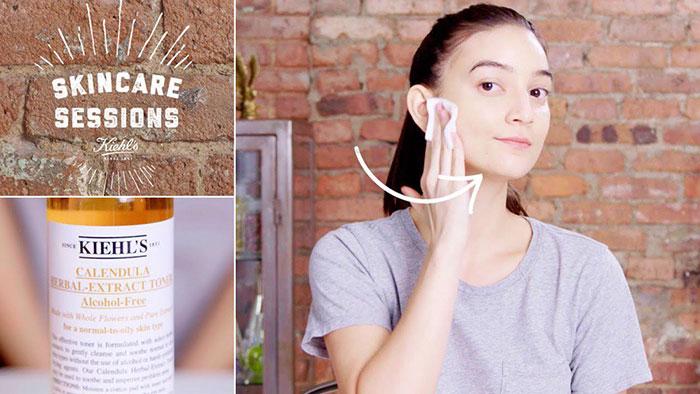 Nước hoa hồng hoa cúc Kiehl's Calendula Herbal Extract Toner - 【Mỹ phẩm  chính hãng】