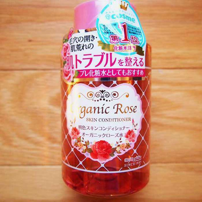 Nước hoa hồng hữu cơ Meishoku Organic Rose Skin Conditioner