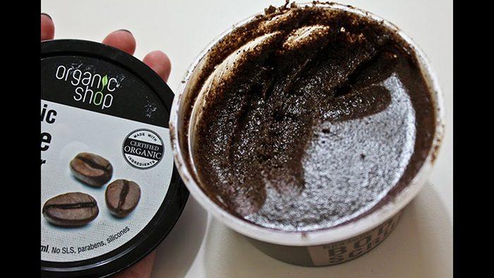 Tẩy da chết Organic Shop Organic Coffee & Sugar Body Scrub