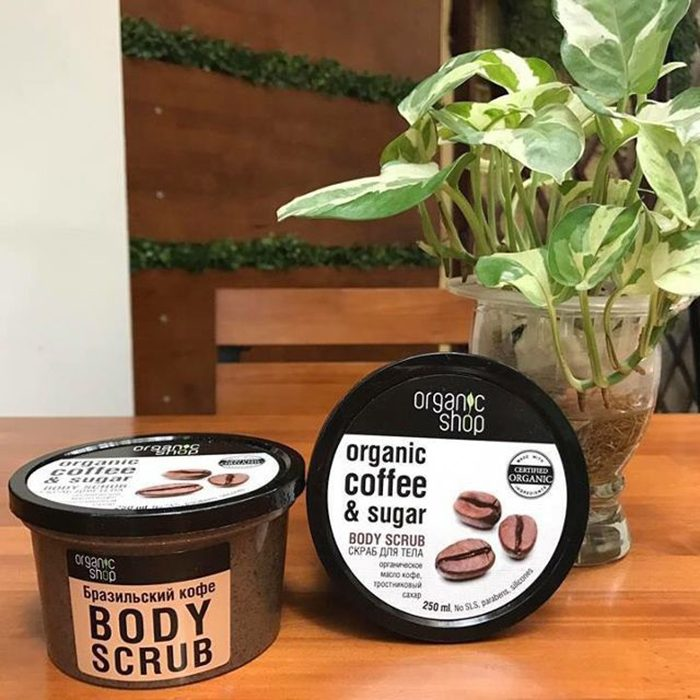 Tẩy da chết Organic Shop Organic Coffee & Sugar Body Scrub