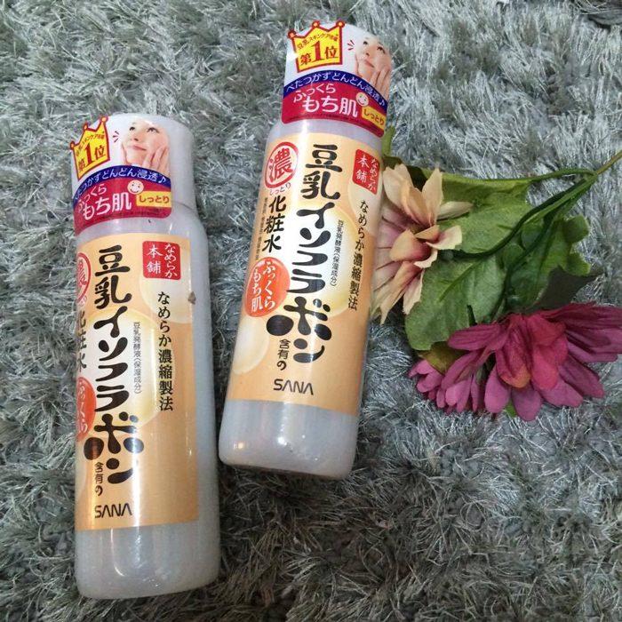 Nước hoa hồng SANA Nameraka Isoflavone Facial Milky Lotion