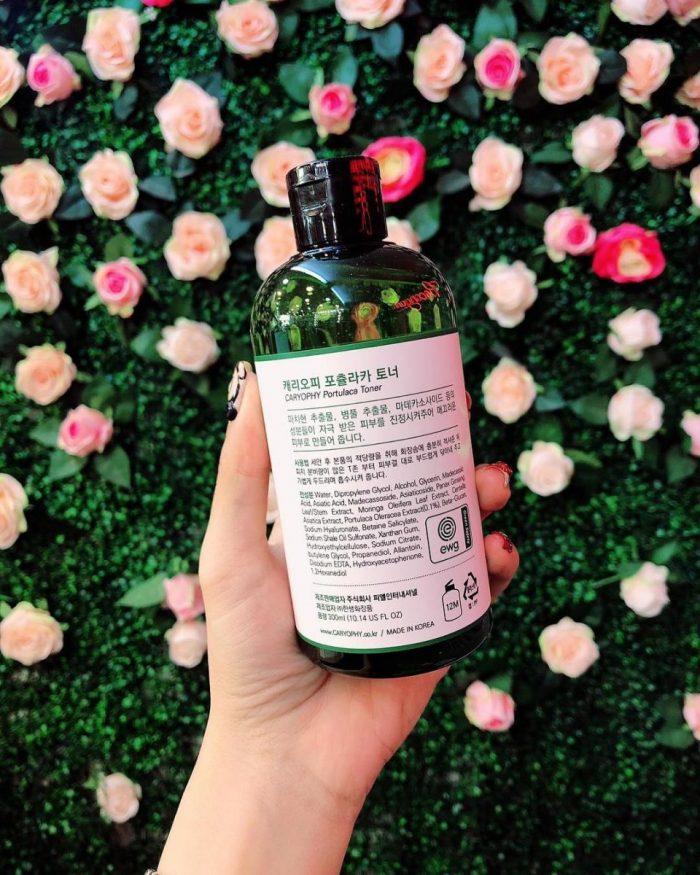 Nước hoa hồng Caryophy Portulaca Toner