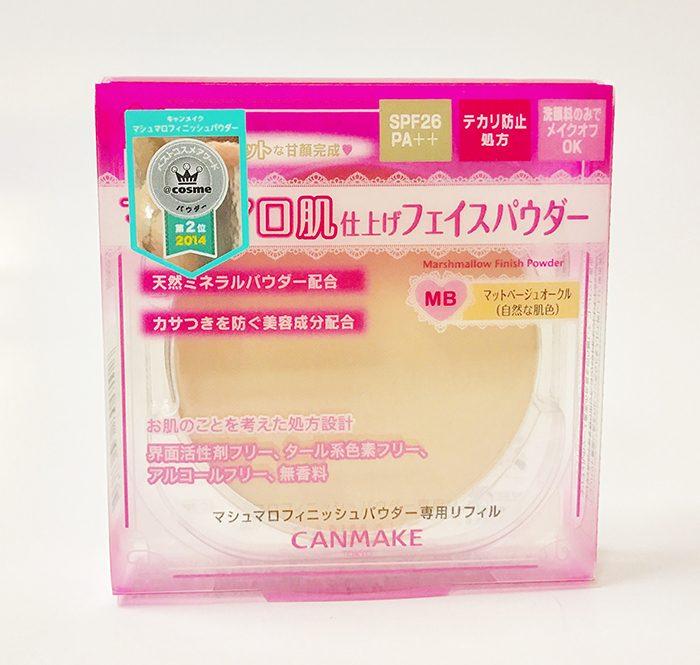 Phấn phủ Canmake Marshmallow Finish Powder Refill