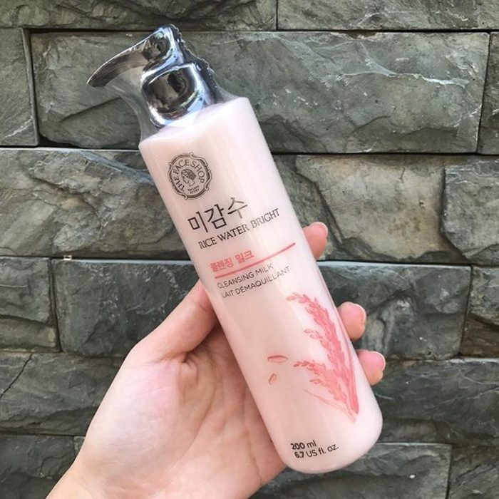 Sữa Tẩy Trang The Face Shop Rice water bright cleansing milk