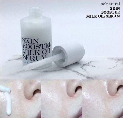 Tinh Chất Kích Trắng Da Skin Booster Milk Oil Serum By Sonatural