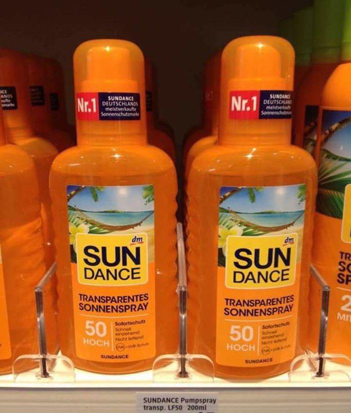 Xịt Chống Nắng Sundance Sonnen Spray Spf 50