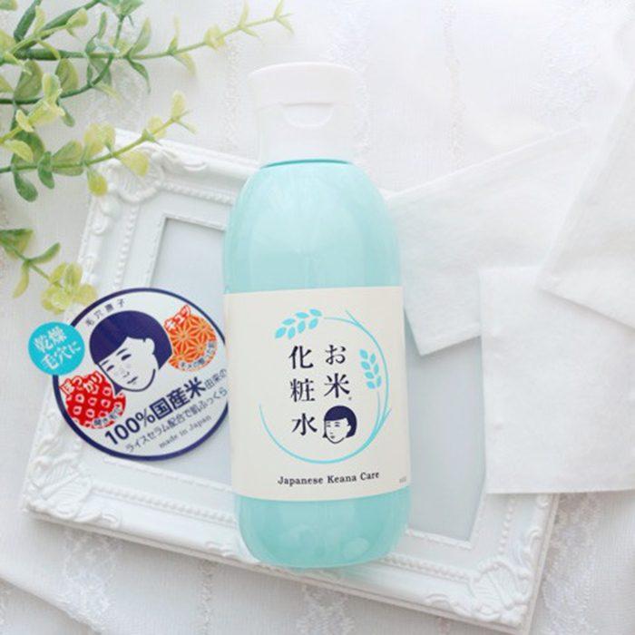 Nước hoa hồng Keana Care Rice Lotion