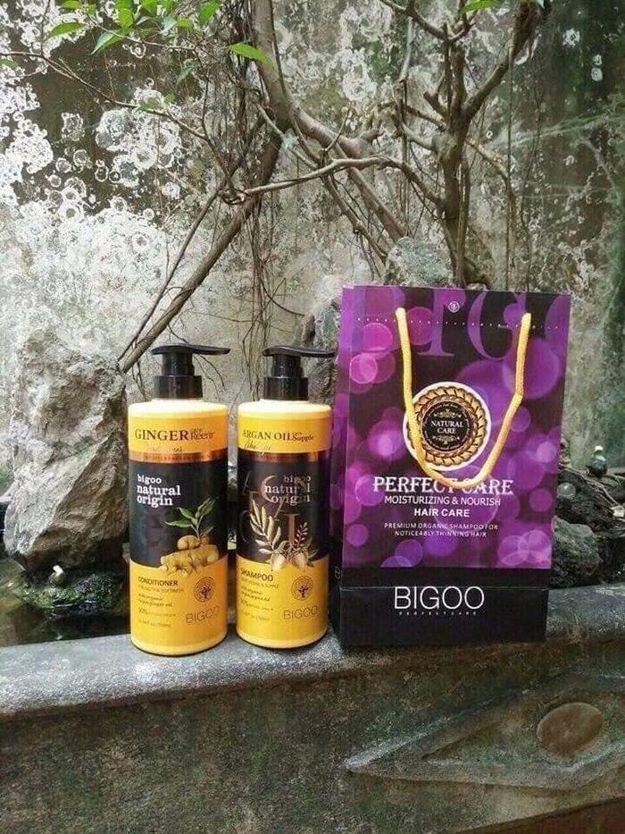 dầu gội Bigoo Natural Oringin