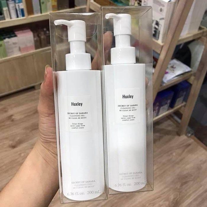 Gel rửa mặt HUXLEY Secret Of Sahara Cleansing Gel – Be Clean, Be Moist