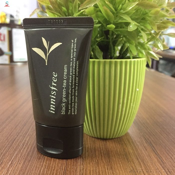 Kem Dưỡng Innisfree Black Green Tea Cream