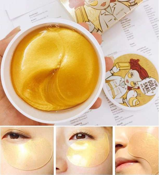 Mặt Nạ Mắt DewyTree Prime Gold Snail Eye Patch
