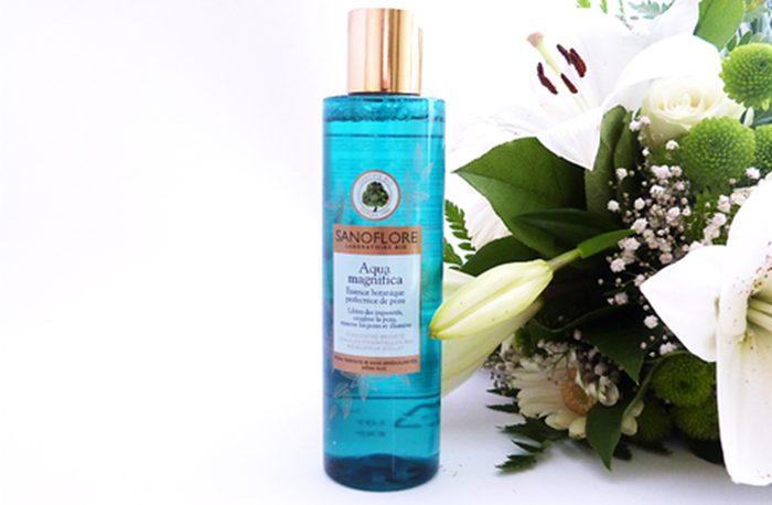 Nước hoa hồng SANOFLORE AQUA MAGNIFICA SKIN-PERFECTING BOTANICAL ESSENCE