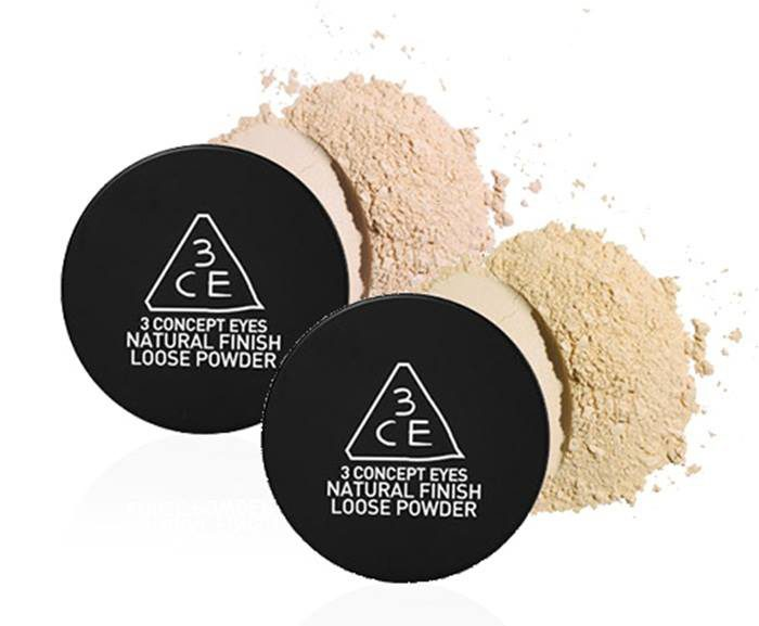 Phấn Bột 3CE Natural Finish Loose Powder