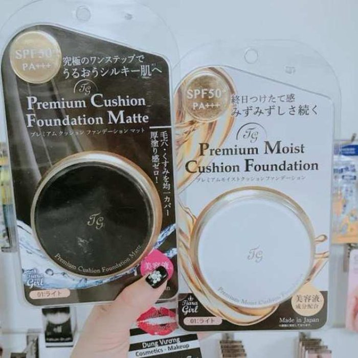 Phấn nước Tiara Girl Premium Cushion Foundation